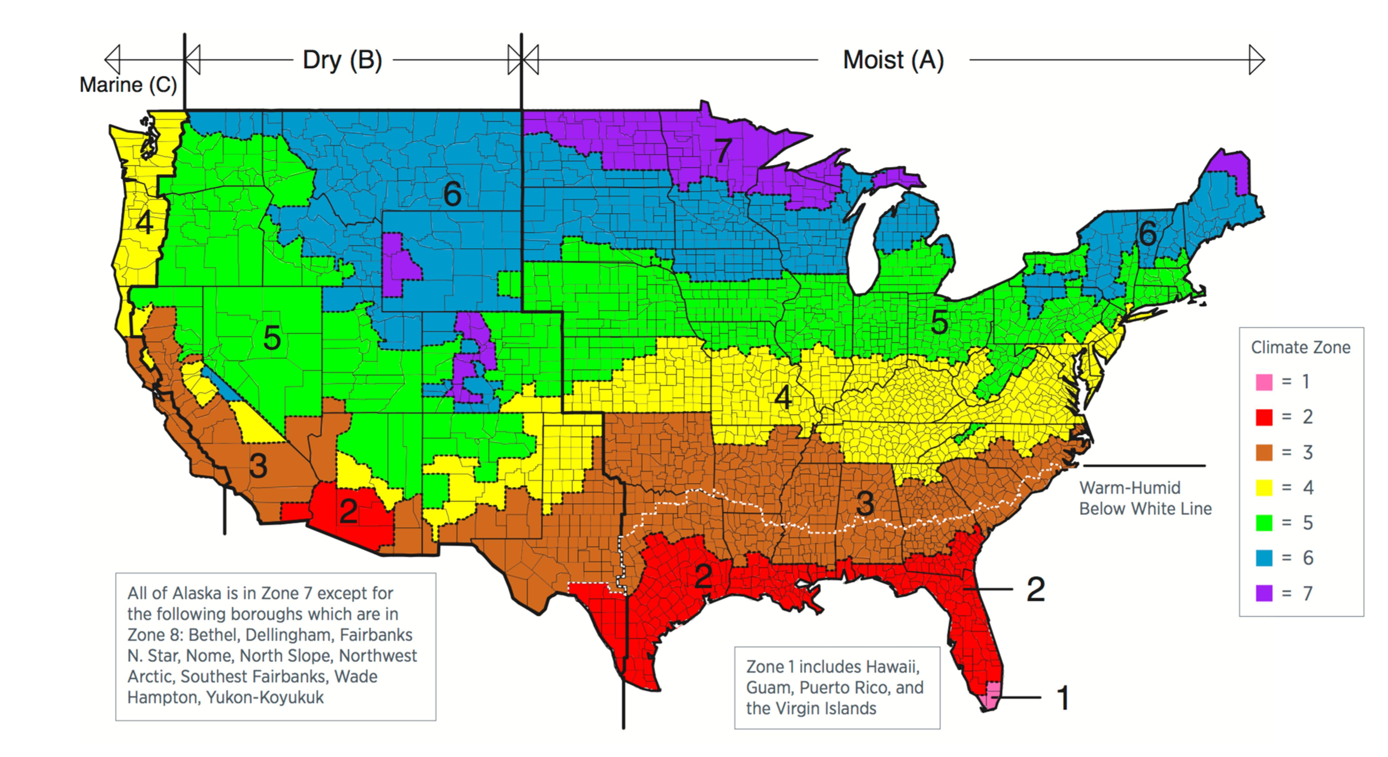 BSI Altered States And Queen Victoria Building Science - Us koppen climate map