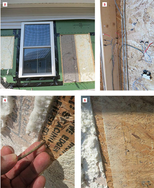 Figure 2: The Wall System Has Good Drying Potential To Both The Inside  (through The Painted Drywall) And The Outside (through The Permeable Zip  Sheathing), ...
